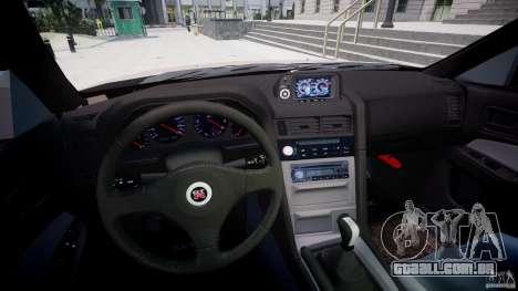 Nissan Skyline GT-R 34 V-Spec para GTA 4 vista de volta