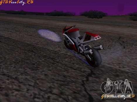 Iluminação de néon-néon no GTA San Andreas para GTA San Andreas segunda tela