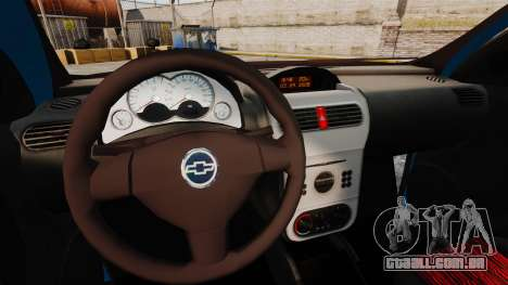 Chevrolet Montana FIXA para GTA 4 vista interior