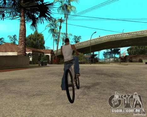 Ural para GTA San Andreas traseira esquerda vista