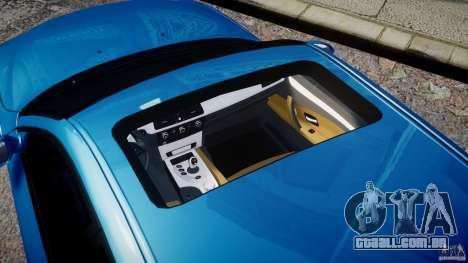 BMW M5 E60 2009 para GTA 4 vista lateral
