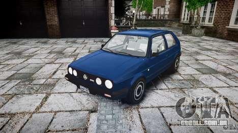 Volkswagen GOLF MK2 GTI para GTA 4 vista de volta