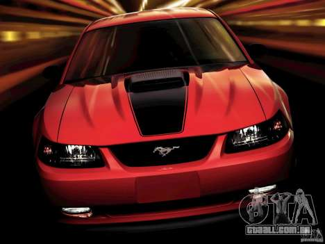 Telas de carregamento, no estilo do Ford Mustang para GTA San Andreas segunda tela