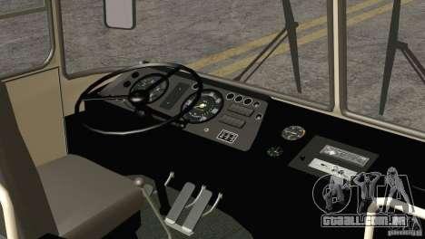 Pele LAZ 699R 93-98 1 para vista lateral GTA San Andreas