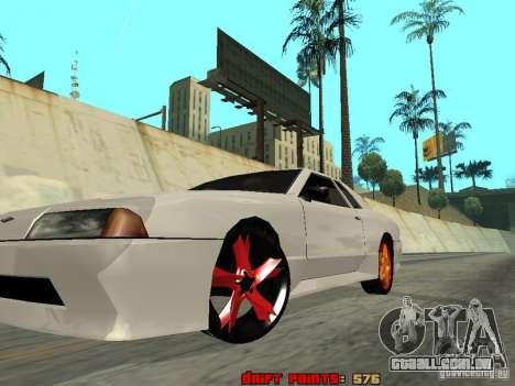 Elegy 29-13 para GTA San Andreas vista interior