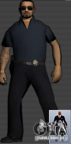 New FBI Agents para GTA San Andreas por diante tela