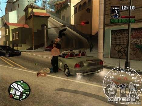 Spyder Cambriocorsa para GTA San Andreas vista traseira