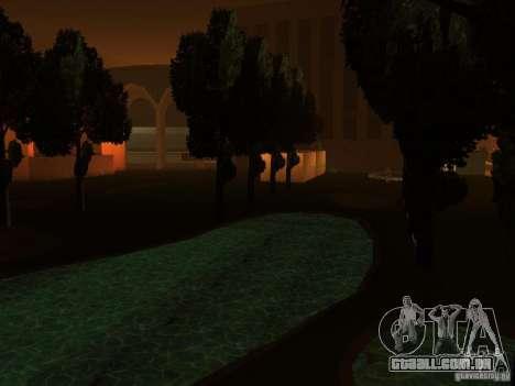 A cidade subterrânea secreta v 1.0 para GTA San Andreas terceira tela