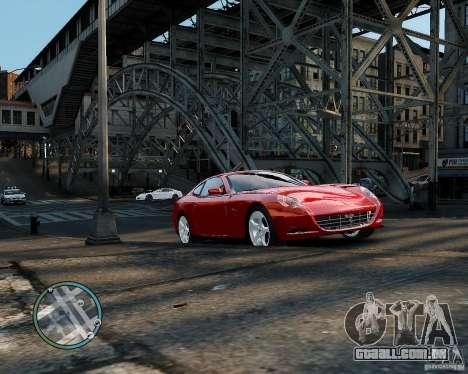 Ferrari 612 Scaglietti para GTA 4 esquerda vista