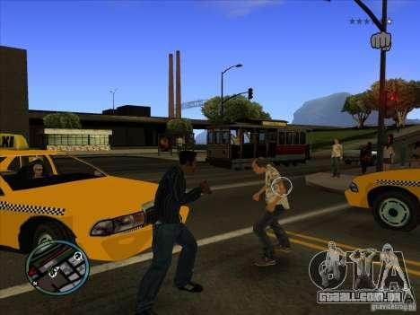 GTA IV TARGET SYSTEM 3.2 para GTA San Andreas segunda tela