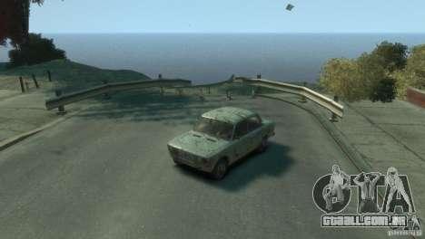 VAZ 2103-Rusty v 1.0 para GTA 4 vista de volta