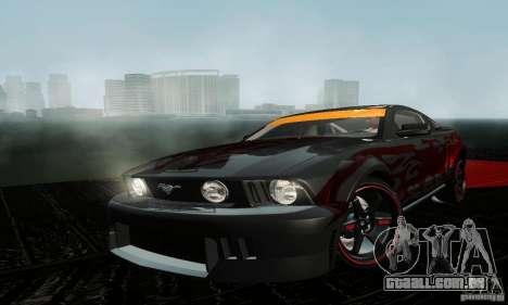 Ford Mustang GT Tunable para GTA San Andreas esquerda vista
