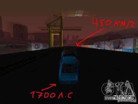 Drift mod para GTA San Andreas terceira tela