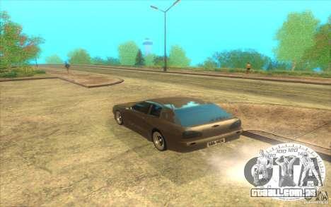 New Elegy Hatch 2011 para GTA San Andreas traseira esquerda vista