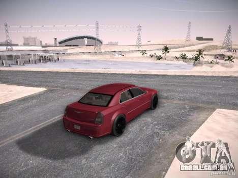 Chrysler 300C SRT8 para GTA San Andreas vista interior