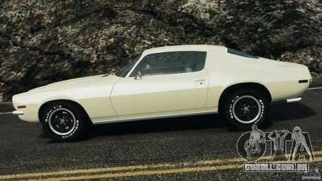Chevrolet Camaro 1970 v1.0 para GTA 4 esquerda vista