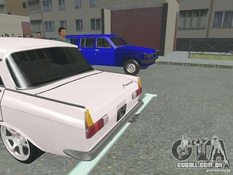 Moskvich 412 para GTA San Andreas vista direita