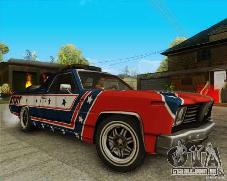 Trailblazer from FlatOut2 para GTA San Andreas vista direita