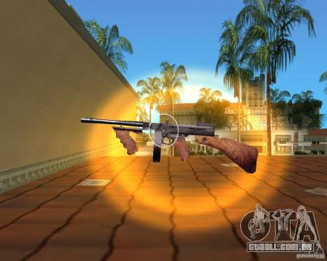 Thompson Model 1928 para GTA Vice City