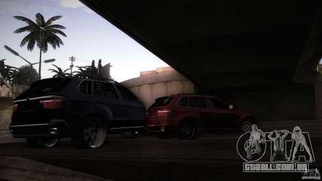 BEAM X5 Trailer para GTA San Andreas vista traseira