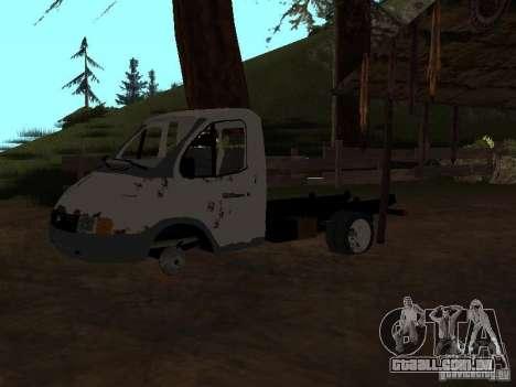 Uma gazela para GTA San Andreas terceira tela