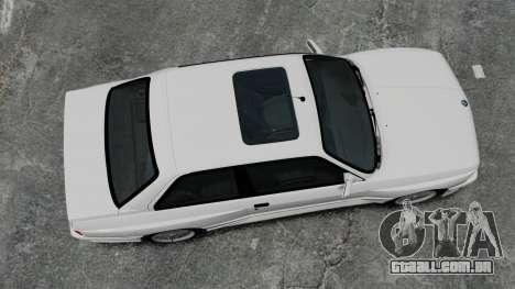 BMW M3 E30 v2.0 para GTA 4 vista direita