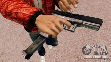 Glock 18 Akimbo (preto/cinza) para GTA 4 segundo screenshot
