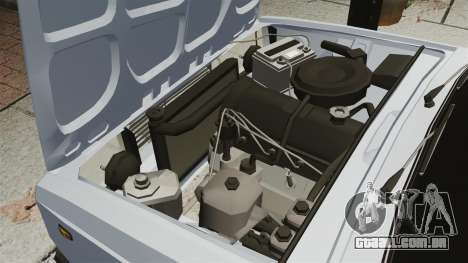 Vaz-2107 2011 DAG para GTA 4 vista interior