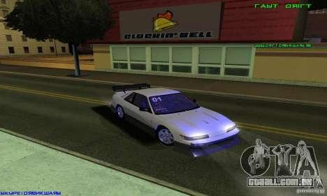 Nissan Silvia S13 Tunable para GTA San Andreas