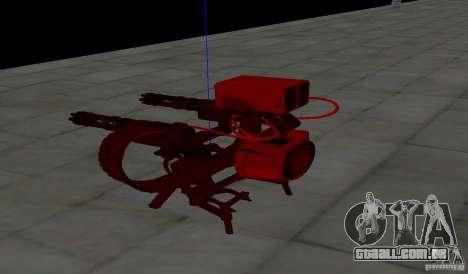 Torreta de Team Fortess 2 para GTA San Andreas por diante tela