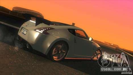 Nissan 370Z Drift 2009 V1.0 para as rodas de GTA San Andreas