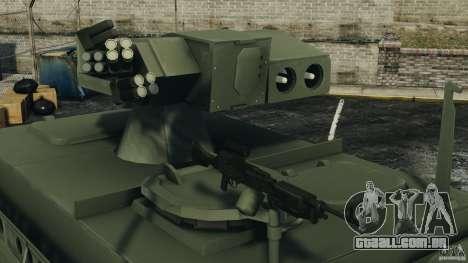 Stryker M1134 ATGM v1.0 para GTA 4 vista lateral