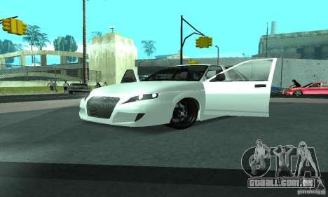 VAZ-2112 carro Tuning para GTA San Andreas vista interior