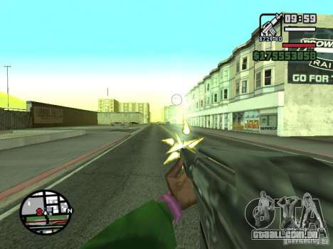 Primeira pessoa (primeira pessoa mod) para GTA San Andreas oitavo tela