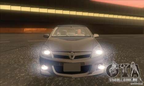 Opel Astra GTC DIM v1.0 para GTA San Andreas vista inferior