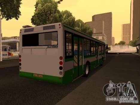 LIAZ 5292.20 para GTA San Andreas traseira esquerda vista