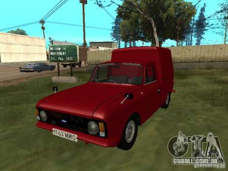 IZH 2715 1982 para GTA San Andreas