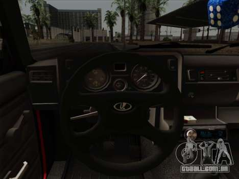 VAZ 21054 para GTA San Andreas vista inferior