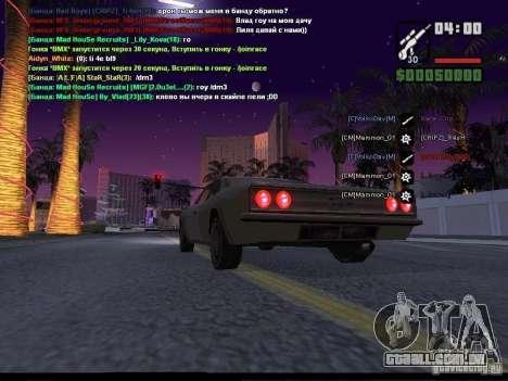 Céu estrelado v 2.0 (para SA: MP) para GTA San Andreas sexta tela