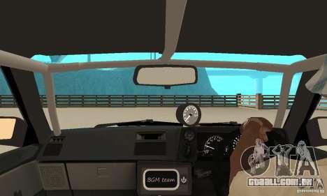 Toyota Sprinter para GTA San Andreas vista traseira