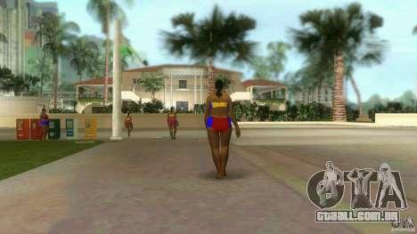Big Lady Cop Mod 2 para GTA Vice City segunda tela