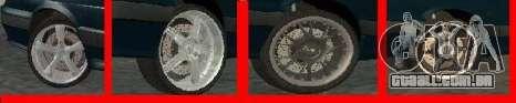 Rodas para LADA 2114 para GTA San Andreas