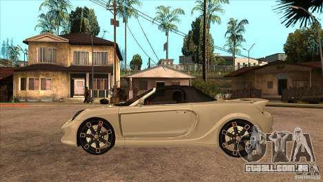Toyota MR-S Veilside para GTA San Andreas esquerda vista