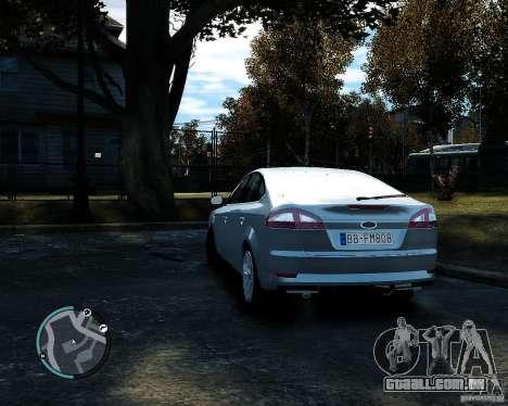 Ford Mondeo 2009 v1.0 para GTA 4 traseira esquerda vista