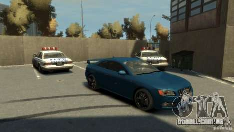 Audi S5 para GTA 4 vista direita