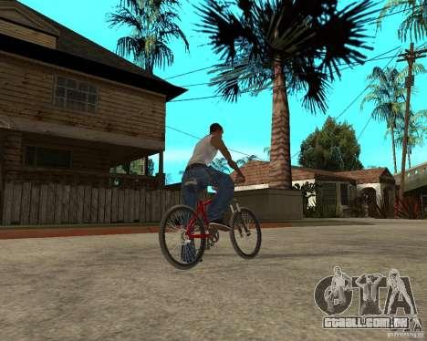 Kona Cowan 2005 para GTA San Andreas traseira esquerda vista
