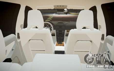 Volvo XC 90 para GTA 4 vista inferior