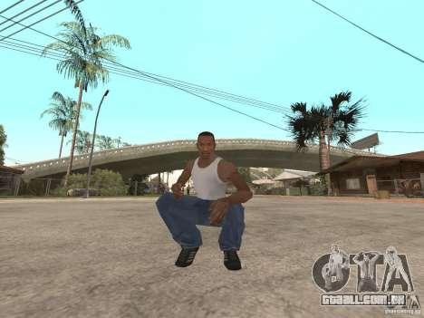 Awesome .IFP V3 para GTA San Andreas segunda tela
