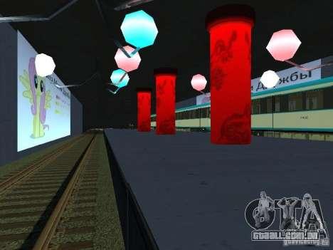 Grande país-Grèjtlènd v 0.1 para GTA San Andreas sexta tela