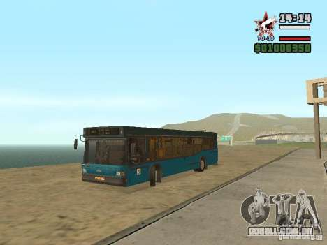 Maz-103S para GTA San Andreas traseira esquerda vista